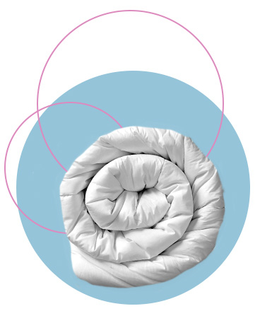 To ensure you're getting the right amount of rest, try updating your duvet