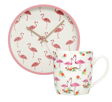 Freshen up the kitchen with our flamingo-inspired kitchen accessories