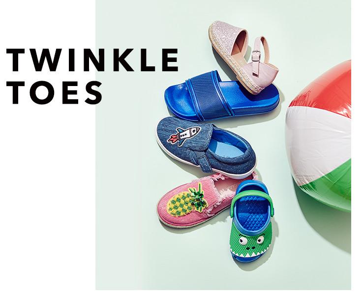 Shop kids' footwear