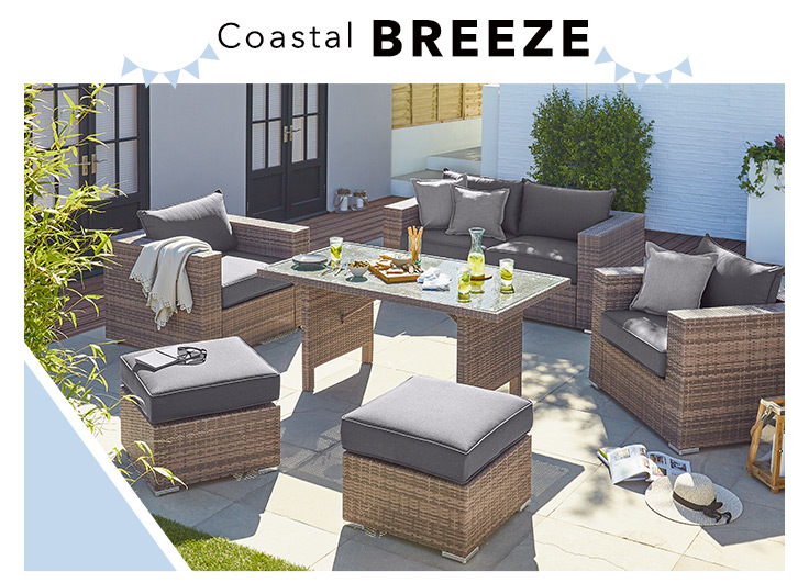 Kick back in style with our selection of outdoor sofas