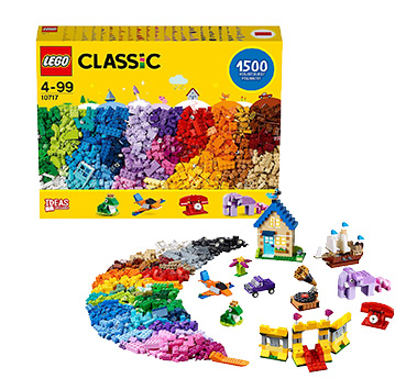 Lego is timeless - try a classic brick set for freedom to build anything
