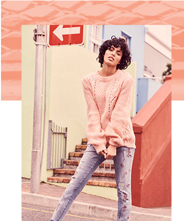 Browse the latest jumpers, now in spring shades