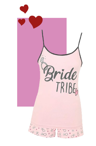 These 'Bride tribe' pyjamas are a must-have for any bridal party