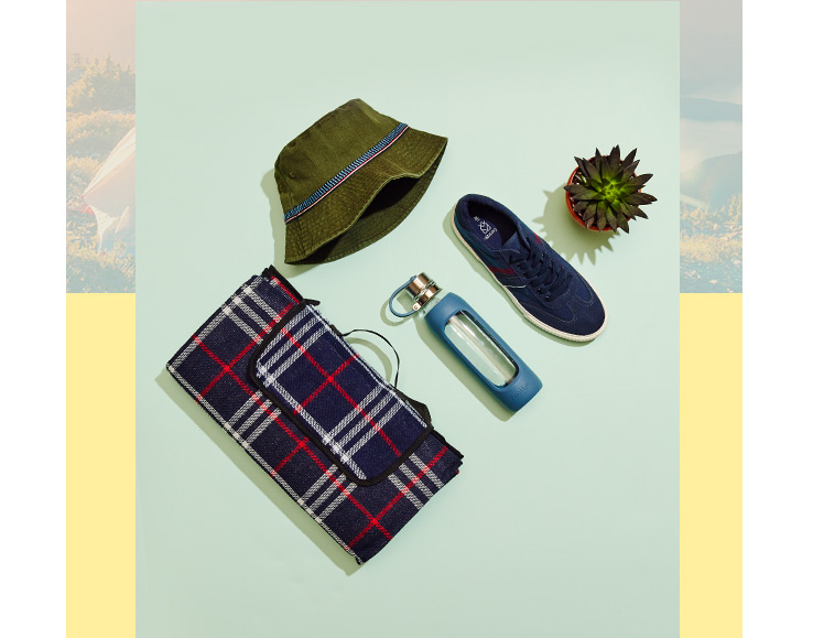 Get geared up for the great outdoors with our camping essentials