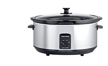 Using a slow cooker means you can get on with your other tasks without having to watch over your meal