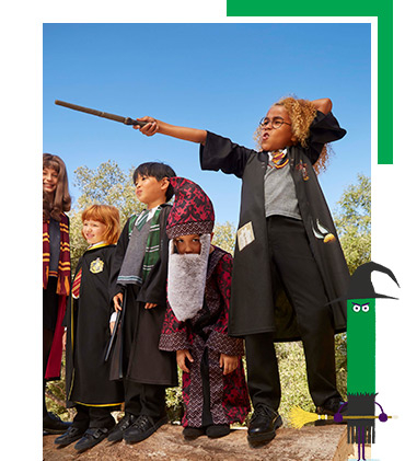 Their Harry Potter World Book Day costume is right here