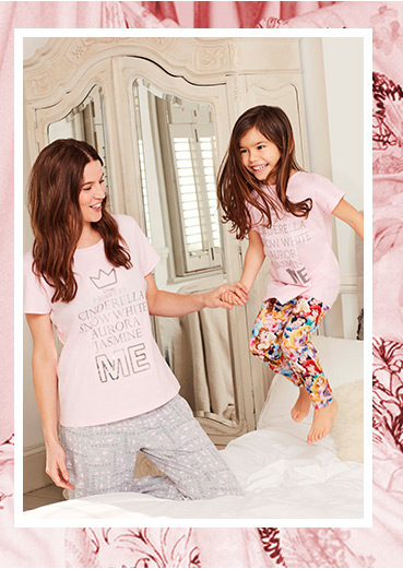 Browse our cosy range of nightwear