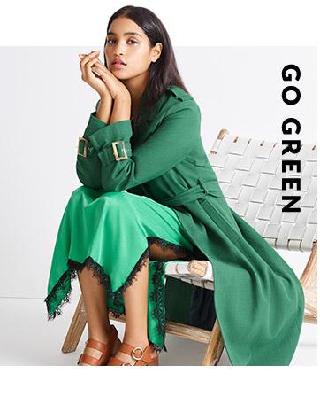 Shop this season's green story