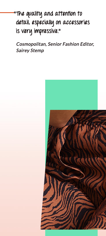 Go wild for tiger prints