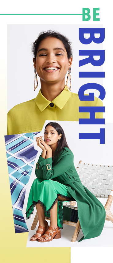 Channel this season's green story