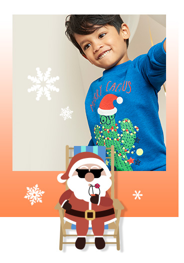 Shop kids' Christmas jumpers