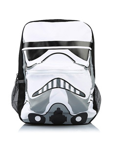 The force will be with them when carrying this Star Wars backpack, designed to look like a stormtrooper
