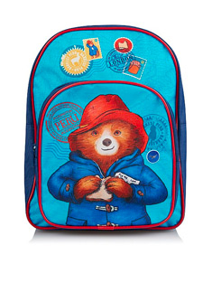 If they need to carry supplies for school or day trips, let Paddington Bear help them with this blue rucksack