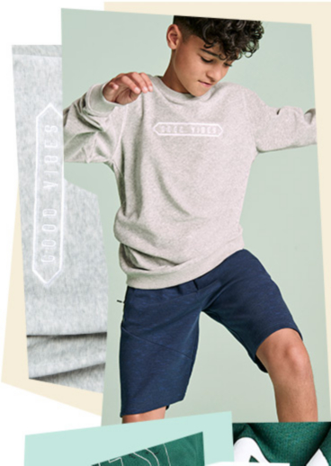 Stock up on essentials, such as jumpers and shorts