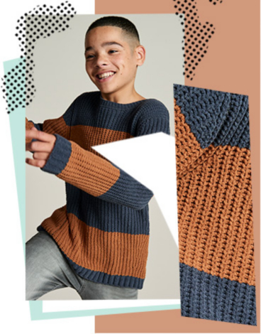 Stylish knits will keep them looking good and feeling warm