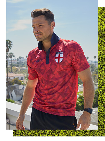 Get into the game with our new Umbro sportswear range