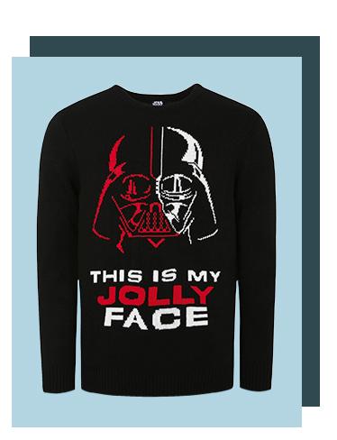 A Darth Vader Christmas jumper