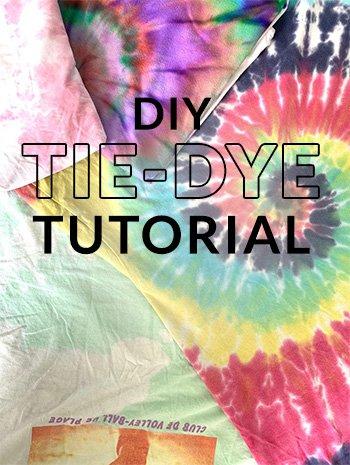 Tie-dye t-shirt's