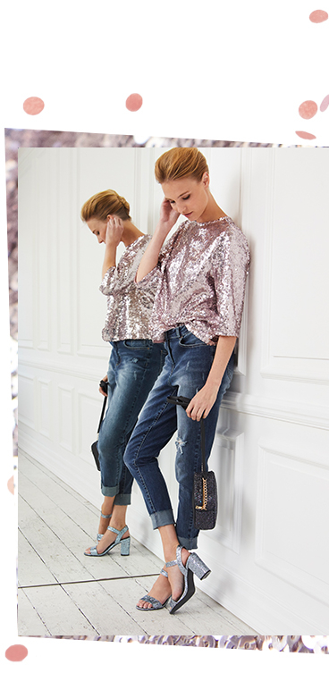Sparkle this season with our women's partywear range