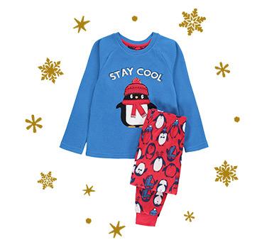 Shop boys' Christmas nightwear