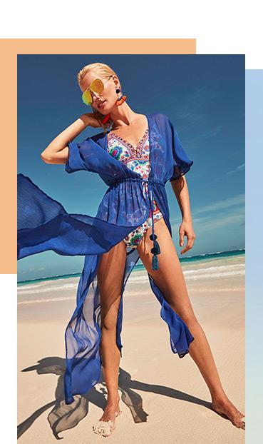 Dip into your beautiful range of swimwear