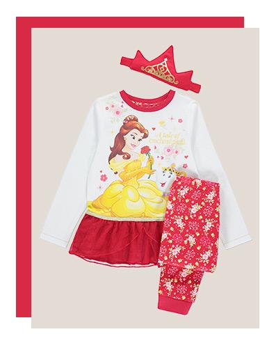 Girls Disney Princess Pyjamas