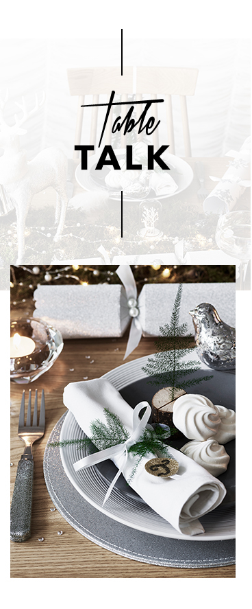 Create a beautiful table spread this Christmas with our range of dinnerware and accessories