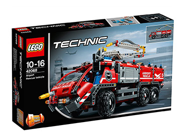 Activate the boom to position the water cannon on the Airport Rescue Vehicle and extinguish the flames!