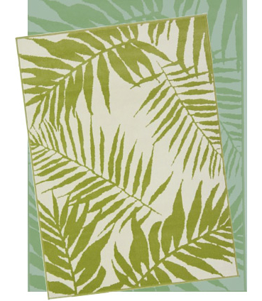 Enter a beautiful jungle every time you step through the front door with this botanical patterned rug
