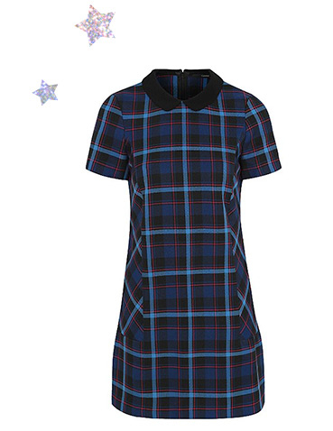 Looking for an outfit that ticks all the boxes? This check dress is the perfect party pick