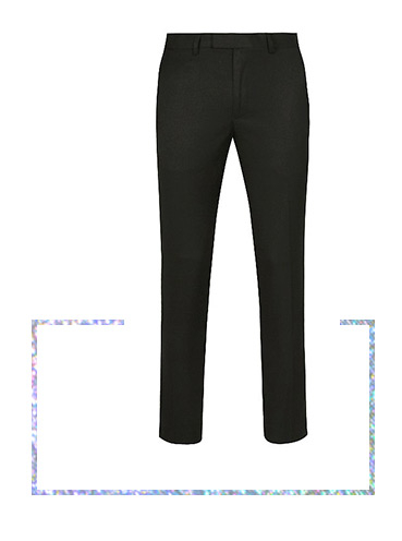 Suit up to stand out with our range of formal trousers