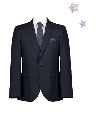 Dress for the occasion with a smart suit jacket and shirt combo