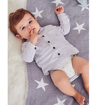 Discover our range of bodysuits for newborns