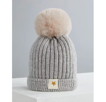 Keep little heads toasty with a bobble hat