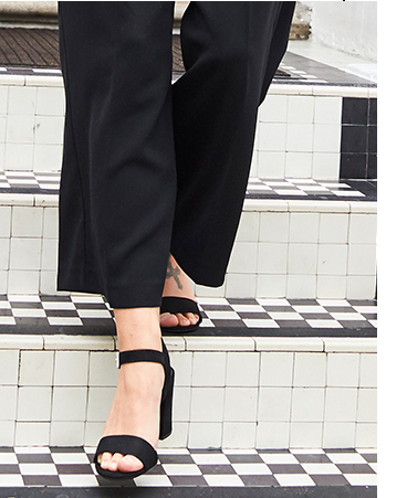 Step into style this season with our range of footwear for women at George.com