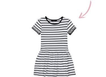 Earn your stripes with our matching striped tops for you and your little one at George.com