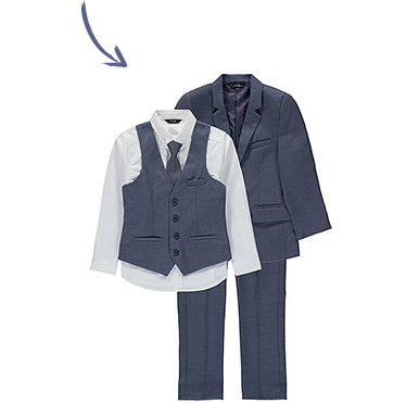 Ensure you're the smartest duo with our co-ordinating suit jackets and sets at George.com