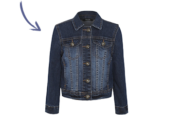 Look like the ultimate dream team with our matching denim jackets at George.com