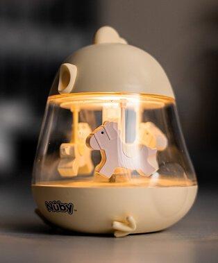 Nuby penguin music and light carousel.