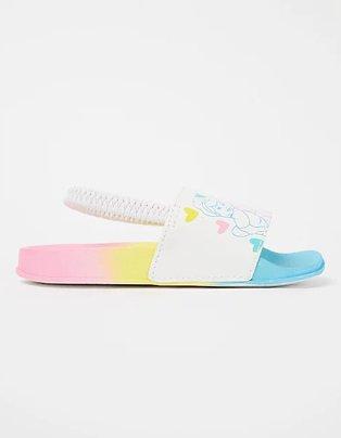 Disney Princess rainbow sliders.