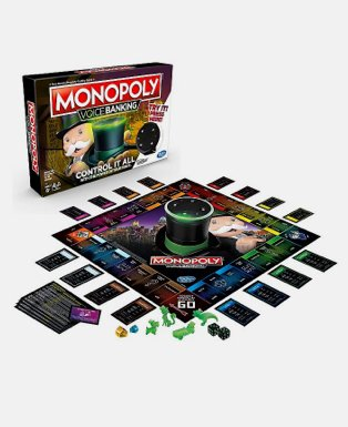 Monopoly Voice Banking Electronic Family Board Game.