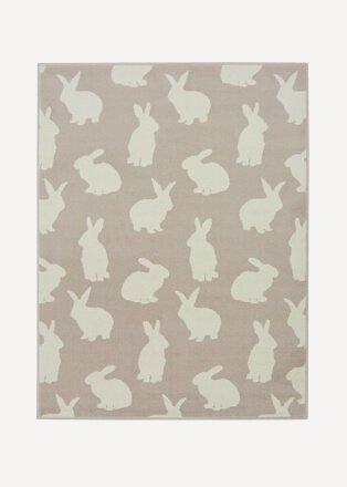 Bunny pattern rug