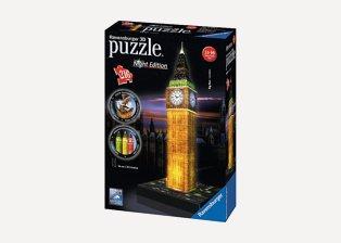 3D puzzle of Big Ben
