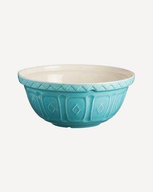 Blue baking bowl