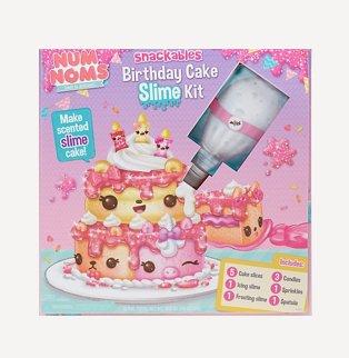 Birthday cake slime kit
