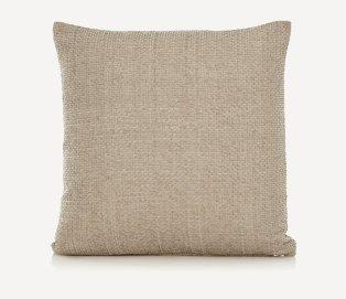 Square beige cushion