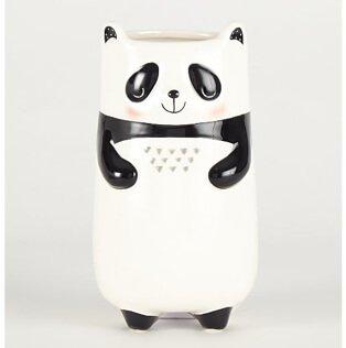 Tall Panda plant pot