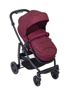 Graco Evo Stroller With Apron & Raincover Red Leopard.