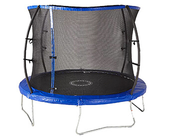 Keep kids active and entertained with a trampoline from Sportspower
