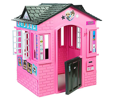 This L.O.L Surprise! Cottage Playhouse by Little Tikes is sure to keep your garden totally glam